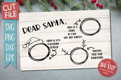 Santa Cookie Tray BUNDLE - SVG, PNG, DXF, EPS Product Image 5