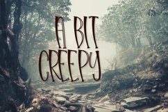 Web Font Hello Halloween - A Spooky Font Product Image 4