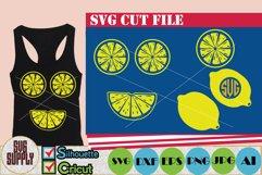 Lemon SVG Cut File Product Image 1