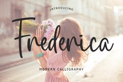 Frederica Script Font Product Image 1