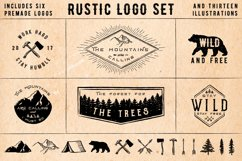 Rustic Logos & Illustrations AI PNG Product Image 1