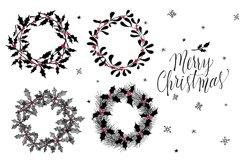 Set of Christmas wreaths Product Image 2