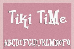 Tiki Time Font Collection Product Image 5