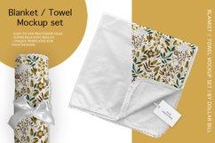 Blanket / Towel Mockup Set. Product Image 1