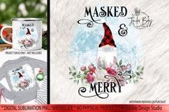 Pandemic Christmas Gnomes Sublimation Bundle Masked & Merry Product Image 2