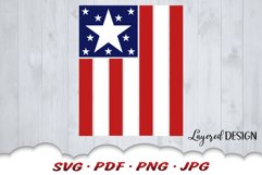 American Flag 4th Of July SVG Cut Files Product Image 3