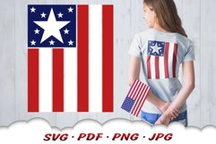 American Flag 4th Of July SVG Cut Files Product Image 1