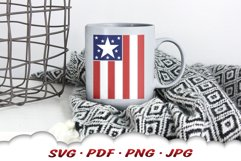 American Flag 4th Of July SVG Cut Files Product Image 5