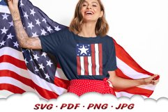 American Flag 4th Of July SVG Cut Files Product Image 4