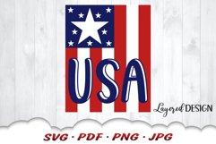 American Flag USA 4th Of July Svg Files For Cricut