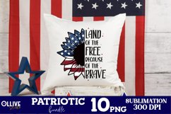 Patriotic PNG Bundle | 4th Of July Sublimation PNG Product Image 3