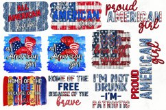 4TH OF JULY SUBLIMATION BUNDLE| PNG DESIGNS| 10 DESIGNS Product Image 1