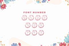Monogram Floral Font Product Image 3