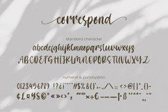 Correspond Script Font Product Image 6