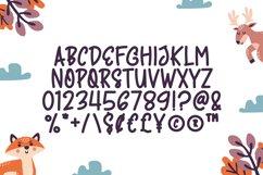 Comic Animal - Cute Display Font Product Image 5