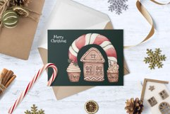"""Watercolor Set """"Christmas Bakery"""" Product Image 5"""
