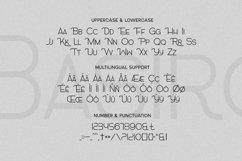 Basiro Font Product Image 5