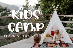 Summer Camp - A cute handwritten font Product Image 5