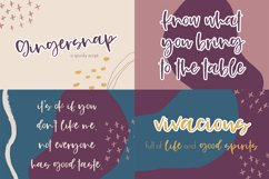 The Fall Font Bundle Product Image 4