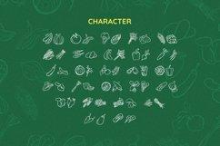 VegetablesDingbat Font Product Image 5