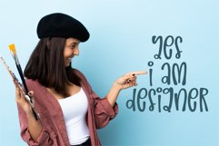 Life Designer-A silly and relaxing font Product Image 5