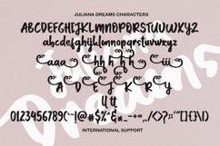 Juliana Dreams - Lovely Font Product Image 2