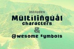 Kuloko Tropical Inline Sans Serif Product Image 4