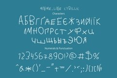 Minime color font Product Image 5