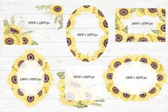 """Frames and Bouquets """"Sunflowers"""" Product Image 6"""