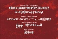 Web Font Atamelya - A Brush & Handwritten Font Product Image 6