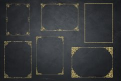Gold Glitter Frames, Photo Effects Product Image 5