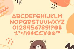 Bear Cuties - Cute Display Font Product Image 4