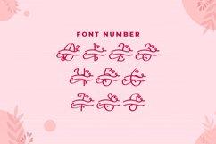 Monogram Lovely Font Product Image 2