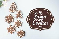 Web Font Sugar Biscuits - Handlettered Font Product Image 5