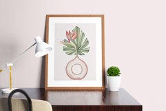"Watercolor ClipArt ""Tropics Indoor Product Image 5"