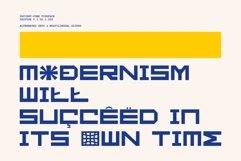 GR Fatient - Modern Cubical Typeface Product Image 5