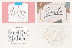 Spectacular All Collection Mega Font Bundle Handwritten Product Image 3