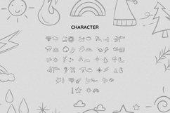 WeatherDingbat Font Product Image 5