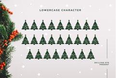 Christmas tree monogram split letter Product Image 3