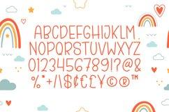 Hello Rainbow - Cute Display Font Product Image 5
