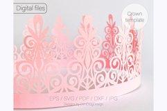 Birthday crown svg cricut Tiara svg Princess crown svg Product Image 6