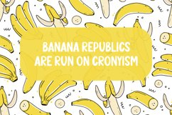 Banana Pastry - Brush Display Font Product Image 5