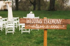 Bride and Groom - A Wedding Font Duo Product Image 5