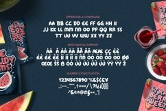 Cloudy Font Product Image 4