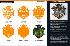 Halloween Signs 3D Layered SVG Cut Files Bundle Product Image 5