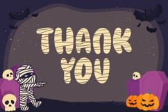 Mummy Cutenes - Halloween Font Product Image 6