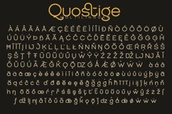 QUOSTIGE ROUNDED SANS SERIF FAMILY version 2.0 Product Image 5