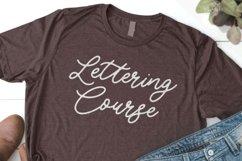 Luckangle Monoline Script Font Product Image 5