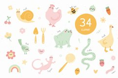 Garden friends   Font duo Product Image 5