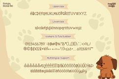 Fontype Animal Pet - Display Font Product Image 5